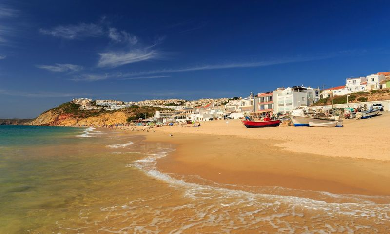 Algarve Portugal Water Sea Beach Sky Land Sand Nautical Vessel Travel Destinations Outdoors Travel Transportation Mode Of Transportation