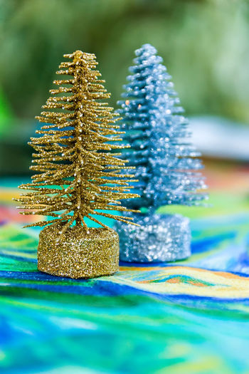 Christmas Christmas Decoration Close-up Day Focus On Foreground Gift Multi Colored Nature No People Outdoors Selective Focus Stack Tree