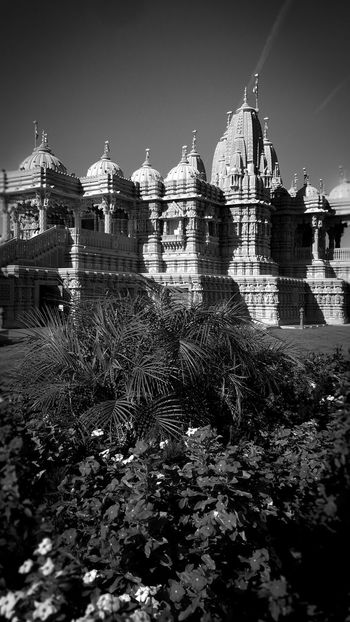 Monochrome Photography BAPS Shri Swaminarayan Mandir Hindu Temple Architecture Building Exterior Built Structure Place Of Worship Religion Eye4photography