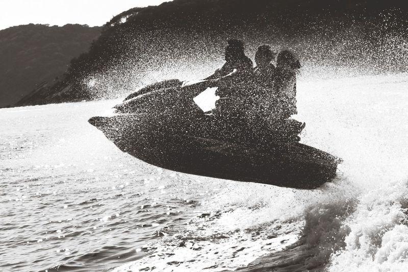 Capa Filter Blackandwhite Sea