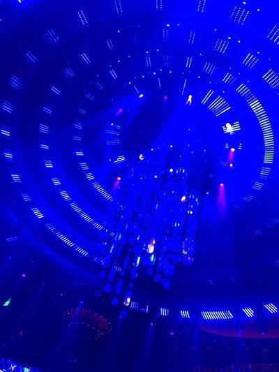 Arts Culture And Entertainment Music Blue Enjoyment Night Illuminated Performance Nightlife Light Crowd Glowing