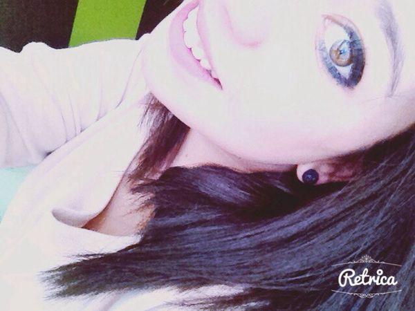 Girl Brune Smile Clear Eyes
