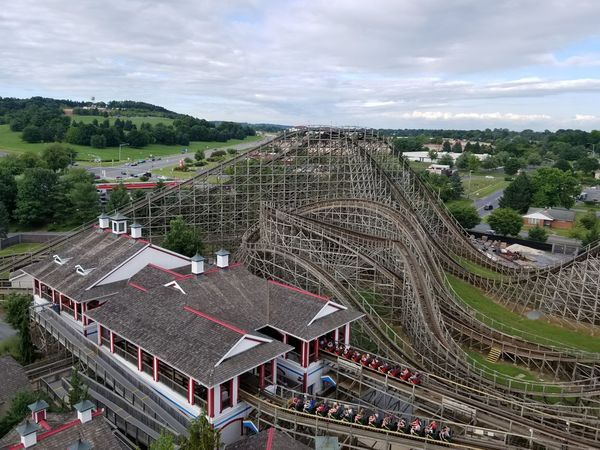 Wooden Rollercoaster Wooden Wooden Texture Rollercoaster Rollercoasters Roller Coaster Hershey Park Getty+EyeEm Collection Eye4photography  EyeEmNewHere Stadium Competition Sport Soccer Field Ice Hockey Match - Sport Tree Soccer City Aerial View