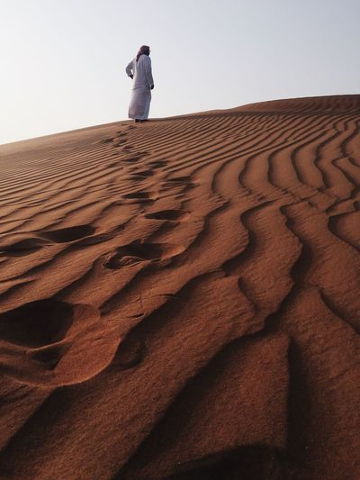 People And Places Sand Dune Sand Wave Pattern IPhone IPhoneography Iphoneonly Scenics Natural Pattern Tranquil Scene Beauty In Nature Desert Lost In The Landscape