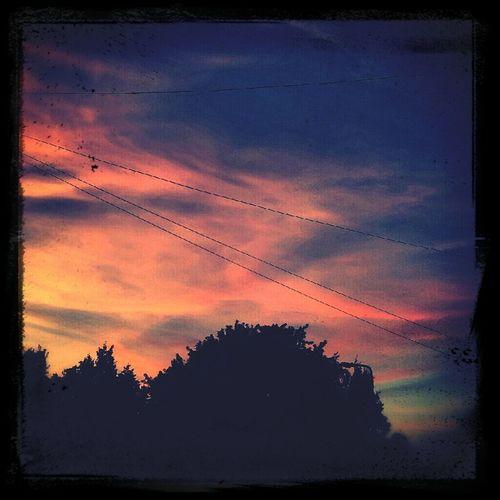 Beautiful skies always make me smile :-)