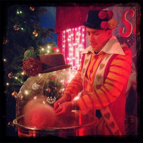 Saltonatale Circus Clown Cottoncandy
