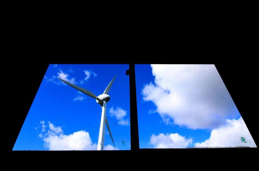 Landscape EyeEm Gallery EyeEm Best Shots Low Angle View Fuel And Power Generation Sky Renewable Energy Alternative Energy Environmental Conservation Wind Power Wind Turbine Cloud - Sky Blue No People