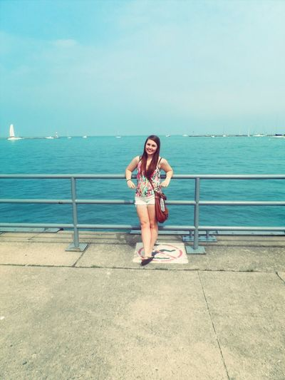 Summer Lake Sunny Day #JustMe