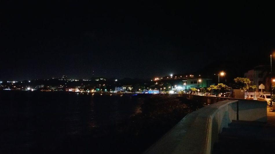 Night Photography Night Out Nightlights Sea At Night Malecon Aguadilla