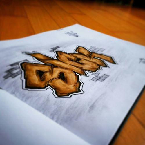 "Hi, I Am ""Vince one"", graffiti artist from Germany, Aachen. First Eyeem Photo"