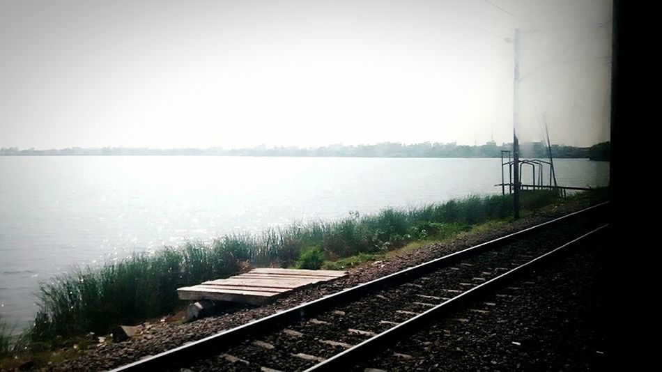 The beauty of India lies in the beauty of nature India possesses...... Nature Nature_collection Nature Photography Lake View Natural Beauty Indiapictures Indiaclicks Lakescape Indianrailways Indianrailwaysdiaries
