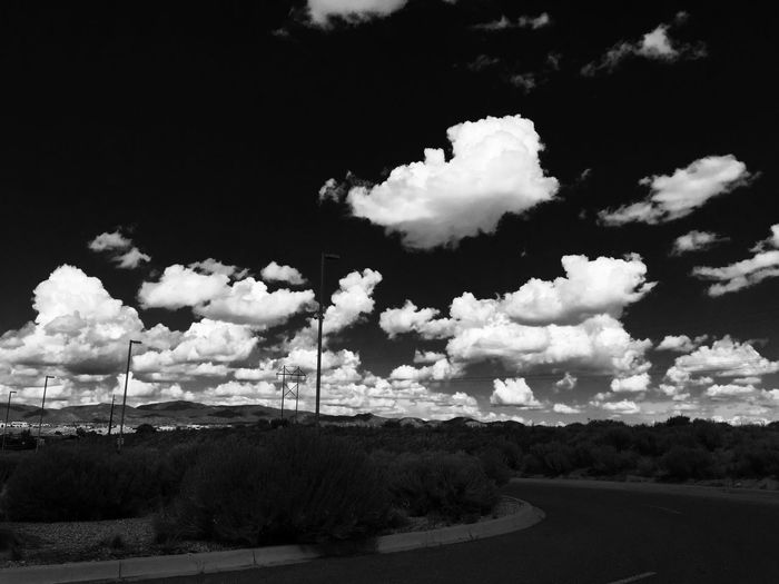 Beautiful Nature Painted Sky Clouds And Sky Cloudporn Blackandwhite