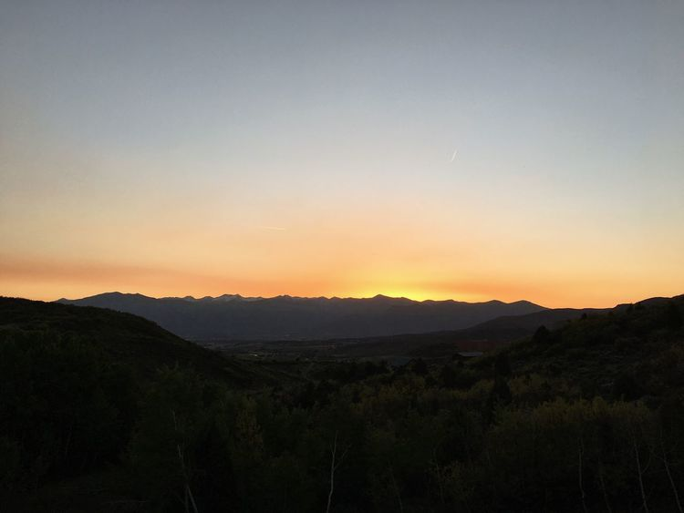 been waiting for these nights to return. Wasatch County Wasatch Back Utah Scenics - Nature Sky Beauty In Nature Landscape Environment Tranquility Sunset