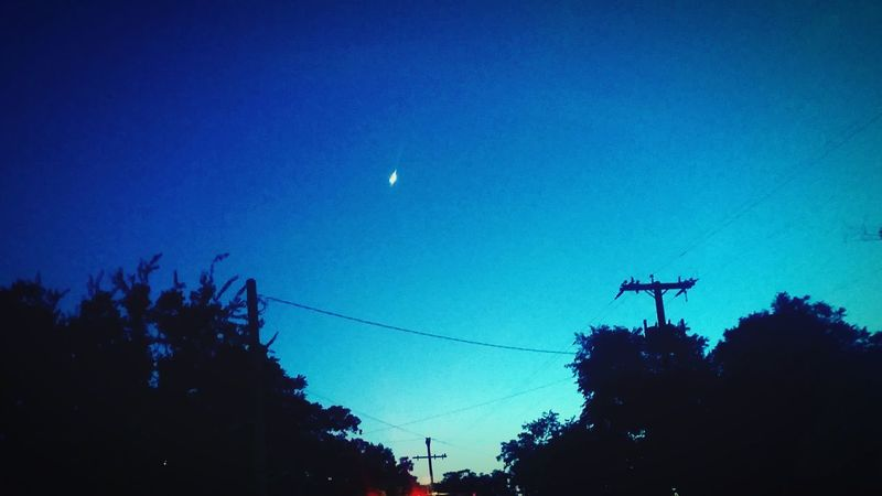 Unfortunately, this is all I see in the night sky right now. Night Sky City Night