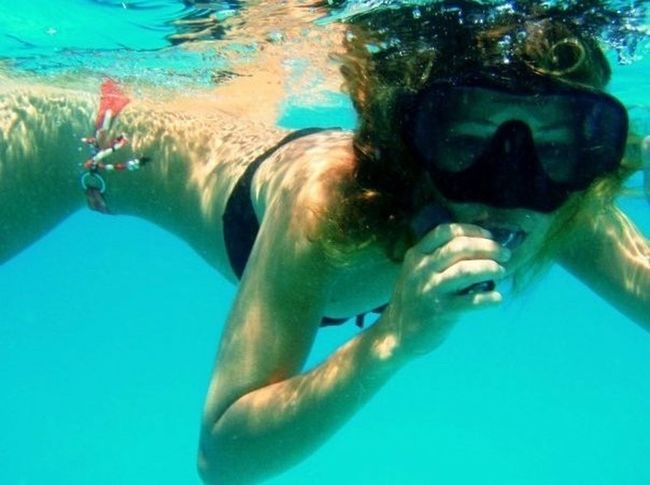 Underwater Swimming Water Natural Pool UnderSea Snorkeling Scuba Diving Sea