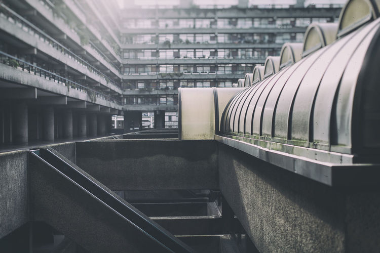 Absence Architecture Balcony City Life Composition Cool Design Design Designing Empty EyeEm Best Shots EyeEm Gallery EyeEmBestPics In A Row Metal Modern Narrow Perspective Railing Showcase March Staircase Steps Urban Life