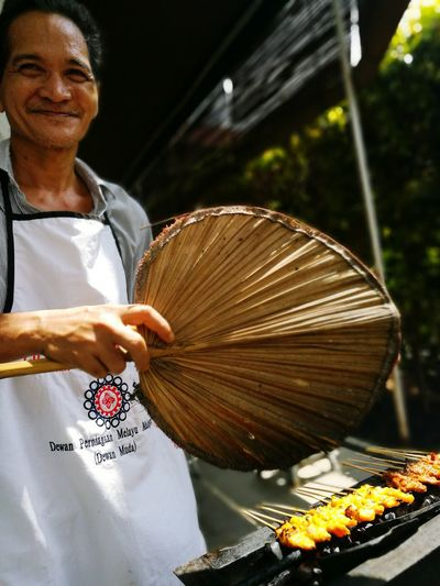 Satay man The Royal Selangor Golf Club Malaysia Malaysian Food Kuala Lumpur Malaysia  HuaweiP9 Oopsygram