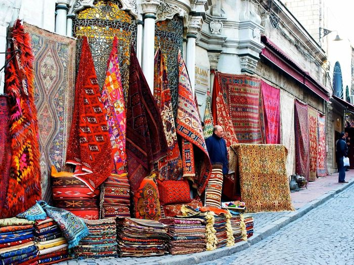Retail  Travel Destinations Market Stall Store Lifestyles Multi Colored Choice Market Cultures Variation Outdoors Bazaar Sari Adult Men Adults Only Day People