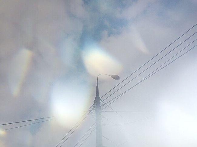 нельзя не сфоткать фонарь, возвращаясь с пар District бауманская