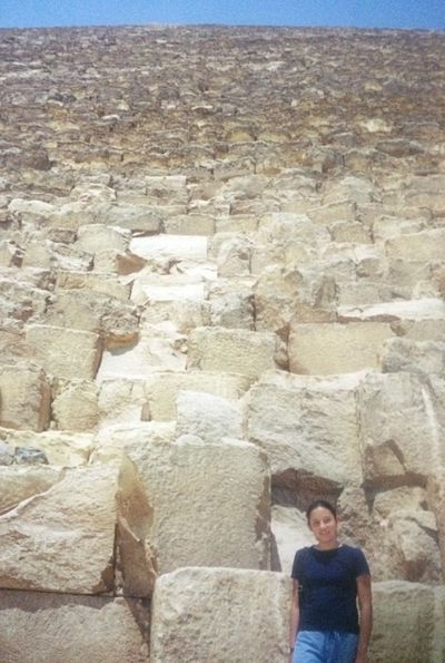 Throwbackthursday  Egypt Pyramid Giza Cairo 15 Years ago Keops Traveling Historical Building Africa