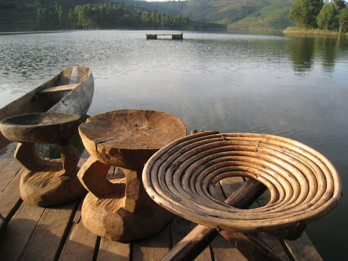 Arrangement Boat Design Directly Below Dugout Canoe Geometric Shape Jetty Lake Lake Bunyoni Lake View No People Pattern Spiral Stool Travel Travel Photography Uganda  Things I Like -> go to places no one else is going Lake Bunyonyi Get Lost Miles Away Live For The Story