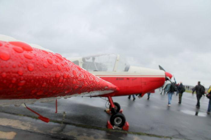 #airplane Air Base Airport Germany Rain Raindrops Red Wittmund First Eyeem Photo