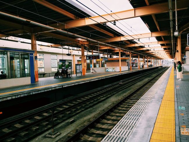 Subway Station IPhoneography Vanishing Point