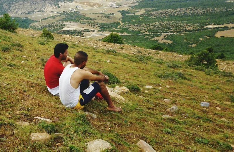 Mountian View Enjoying Life Relaxing Barefoot So Tired Thirsty  Runoutofwater Mountain Hiking Nice View