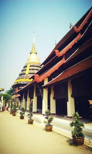 Temple Lampang   Thailand