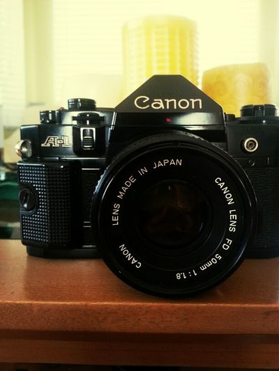 got a thing for old cameras DSLR A-1 Camera Vintage Canon Photography Retro