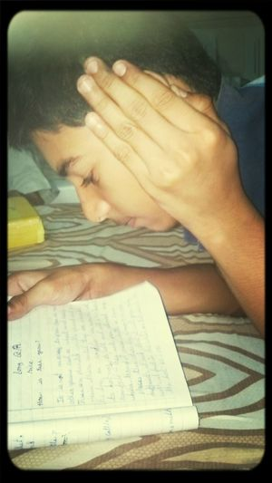 Authentic Moments Littlebrother Studying Don't Disturb