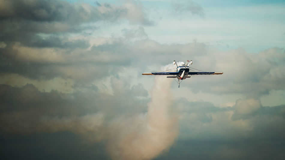 Air Vehicle Airplane Airshow Cloud - Sky Day Fighter Plane Flying Journey Low Angle View Mid-air Military Airplane Mode Of Transport Nature No People Outdoors Sky Transportation