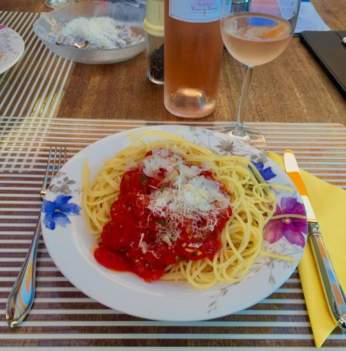 The Week On EyeEm Food And Drink Plate Table Freshness Serving Size Food Ready-to-eat Drinking Glass Indoors  Drink Fork Indulgence Spaghetti Temptation Refreshment Italian Food No People Close-up Meal Appetizer Focus On Foreground Spaghetti With Tomato 🍅 Sauce EyeEm Food Stories