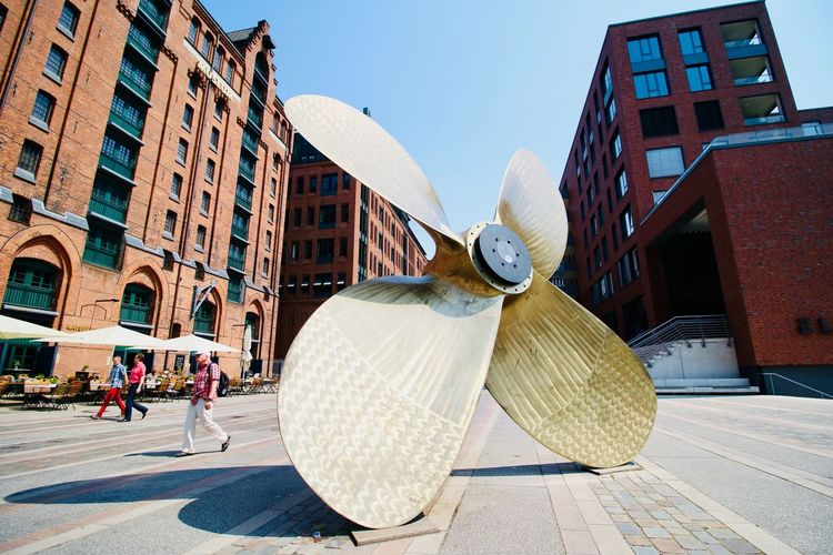Ship Speicherstadt Hamburg EyeEm Selects Architecture Building Exterior Built Structure City Day Nature Building Sunlight Sky Clear Sky Outdoors Art And Craft Tourism