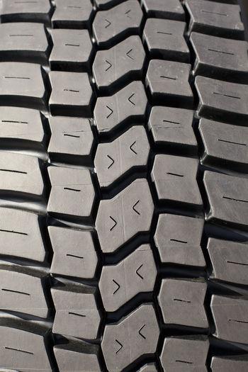 Tire New Profile Transportation Truck Tire Wheel Black Bus Tire Close-up Detail Pneumatic Rubber Tire Tyre