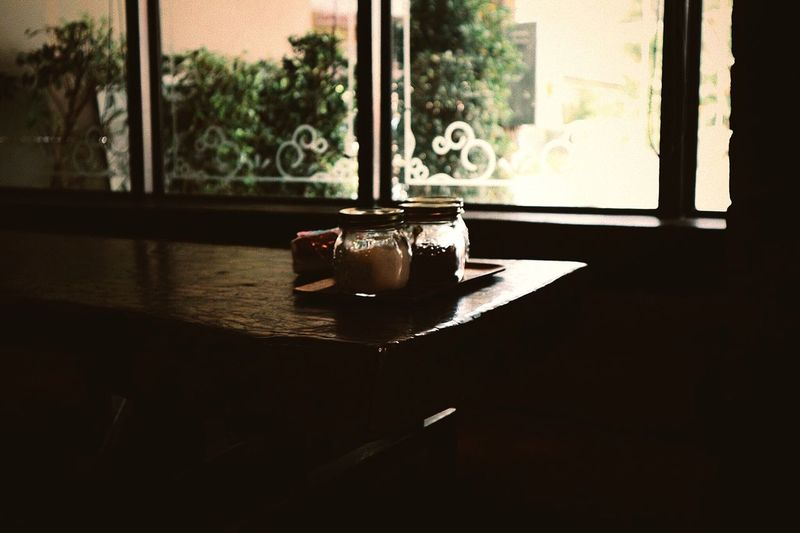 Window Indoors  Sunlight Day No People Table Glass - Material Cup Tree Window Sill Transparent Nature Plant Shadow Container Still Life Food And Drink Old
