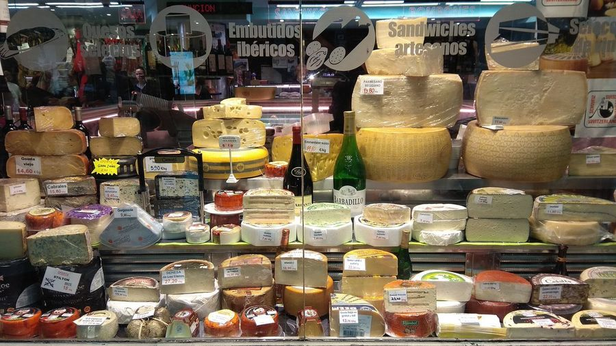 #cheese Cheese Shop Traditional Business Variety Multi Colored Choice Full Frame Variation Backgrounds For Sale Close-up Shop Repetition Goat Cheese Retail Display Store Window Window Shopping
