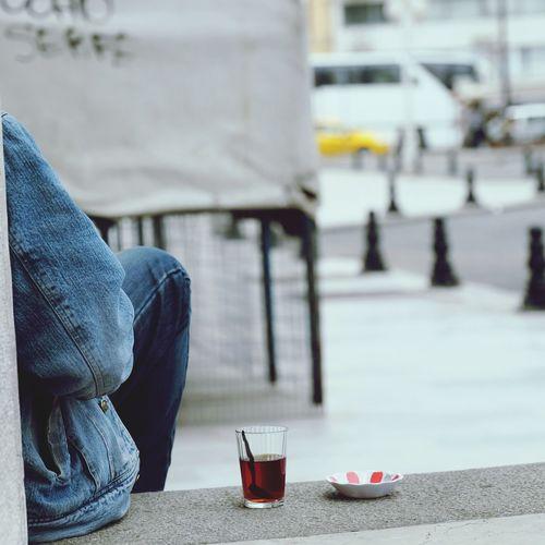 EyeEm Selects Drink Outdoors Turkey Istanbul Tea Teatime Close-up Fujifilm FUJIFILM X-T1 Relaxing