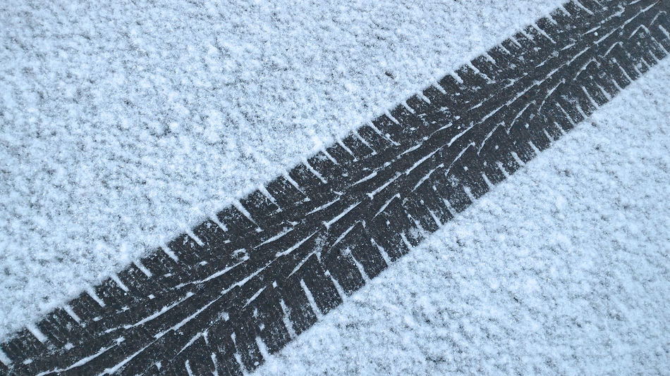 Wheel tyre prints traces on fresh snow Blue Car Close-up Cold Cold Temperature Day Drive High Angle View Morning Nature No People Outdoors Print Road Snow Trace Traces Truck Tyre Weather Wheel White Winter Wintertime Adapted To The City