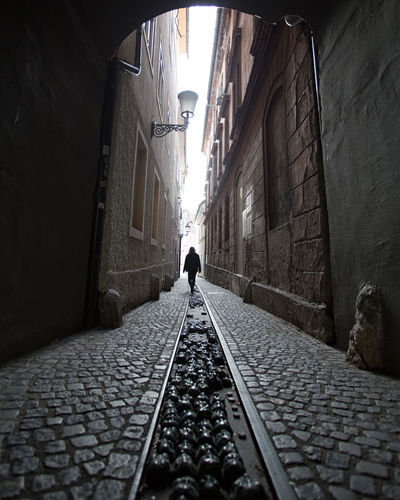 Old cobbled