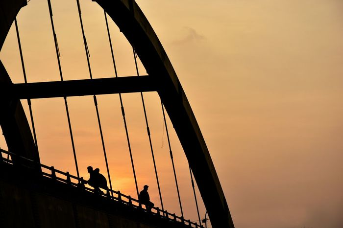 Sunset Silhouettes Sunset Peoplephotography People Photography Eyem Best Shots Tadaa Community People Enjoy Life From My Point Of View EyeEm Gallery Sky_collection Urban Geometry Picturing Individuality Kendari Bay Paint The Town Yellow 43 Golden Moments