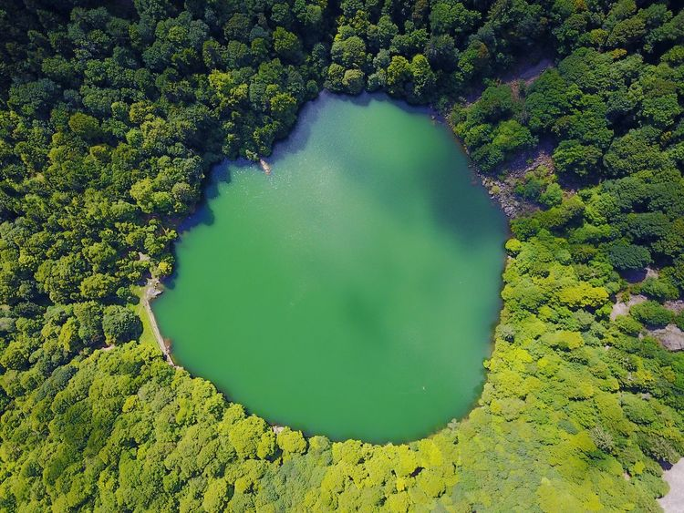 Eye Of Gaïa Green Color Water Nature Beauty In Nature Outdoors Drone  Djimavic DJI Mavic Pro Dronephotography Droneshot Drone View Nature Green