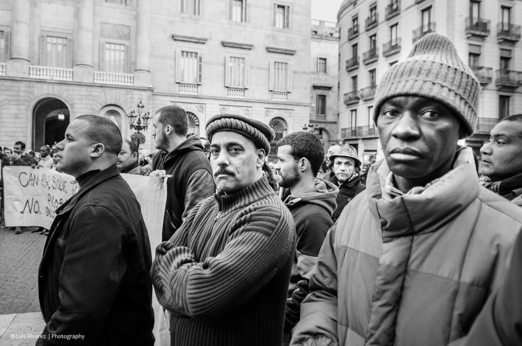 B&w B&w Street Photography Barcelona, Spain Candid Decisive Moment Nikon Outdoor Prime Streetphotography Tog