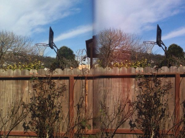Thru The Fence 3D Photo Stereoptic Iphone 5
