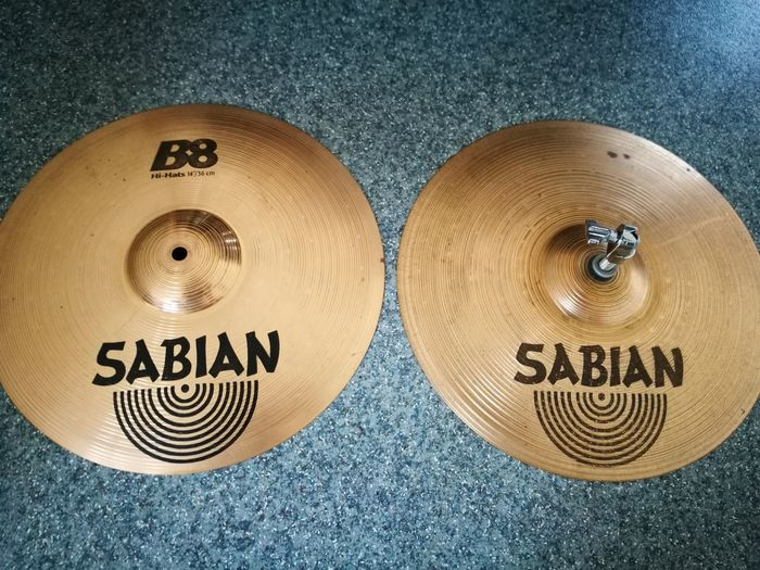 Text Close-up Communication No People Indoors  Day SabianCymbals SabianB8