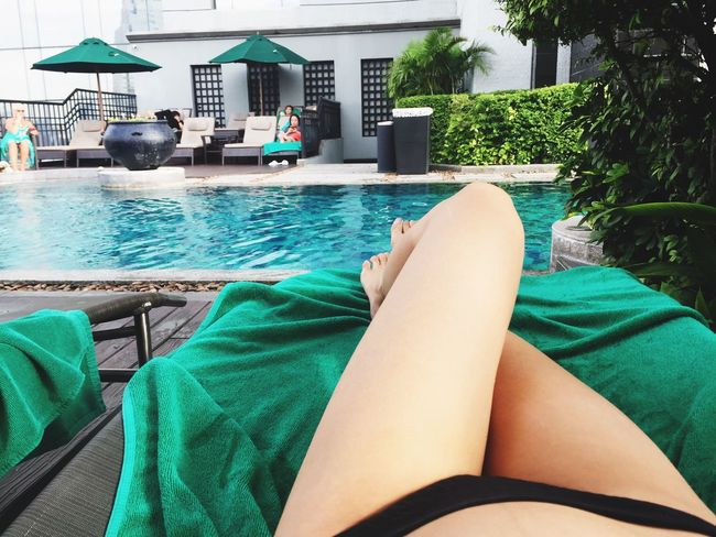CHILLOUT📖 Pool Hotel Resort Goodtime Bikini Travel Trip