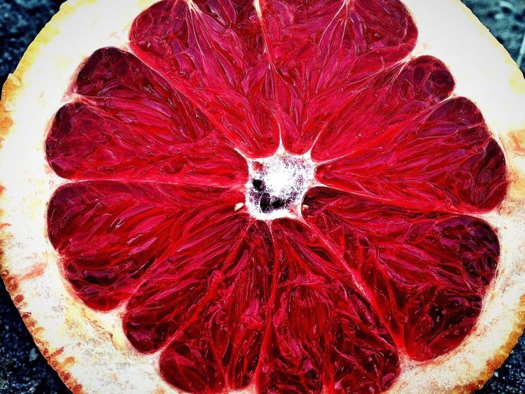 Red High Angle View Healthy Eating Food Freshness Indoors  Close-up No People Day Red Grapefruit Pompelmo Kayaph