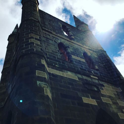Church at Port Arthur prison Low Angle View Building Exterior Architecture Built Structure Sky Building Cloud - Sky Tower A New Beginning