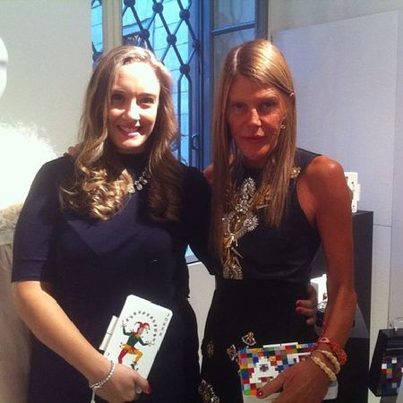 Finally.... @anna_dello_russo ... No words to describe. ?????❤ ADR Uraniagazelli Voguetalents Vogueitalia vfno mfw feelingblessed