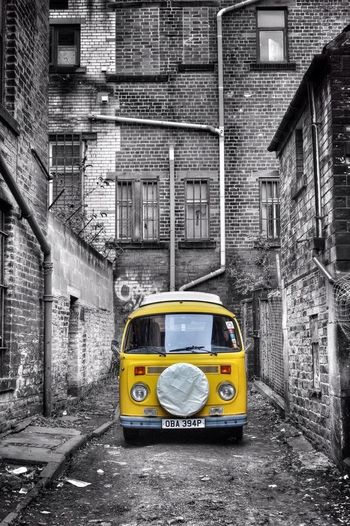 Volkswagen Yellow Bradford RePicture Travel